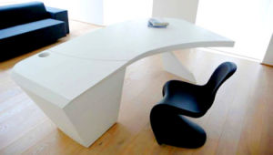 Corian Solid Surface Furniture Office Table pictures & photos