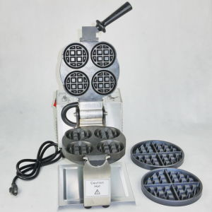 110VAC Baking Machine Commercial Catering Equipment Belgium Waffle Baker pictures & photos