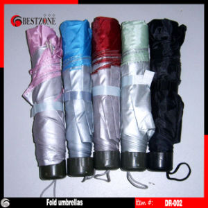 3 Fold Disposable / Promotional Umbrella (DR-002) pictures & photos