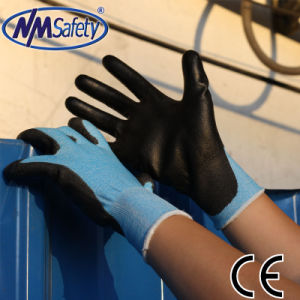 Nmsafety 18g Super Soft Anti-Cut PU Work Glove pictures & photos