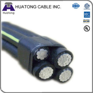 XLPE Insulated Aluminum Conductor ABC Cable Service Drop Cable pictures & photos