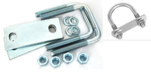 U-Bolts with Zinc Plated Carbon Steel