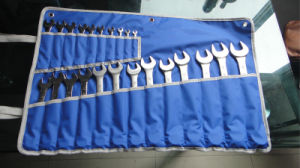 23PCS Professional Combination Wrench Set in a Hang Bag (FY1023C1) pictures & photos