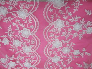 2013 Chic Skirt Border Embroidery Fabric (3T0155-2)