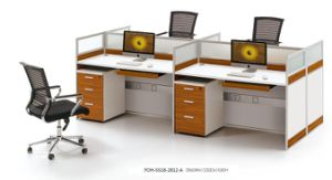 Cheap Office Work Station with Drawers Staff Workstations pictures & photos