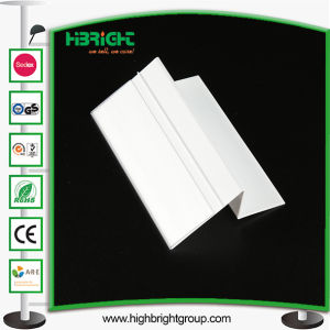Clear PVC Plastic Holders Price Tags with Adhesive Tape pictures & photos
