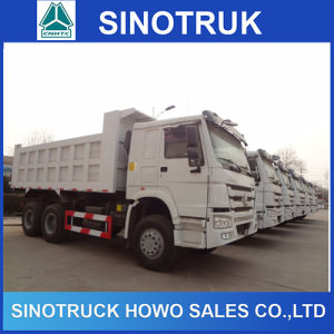 Rear Tipping Dump Truck HOWO Lorry Tipper Truck pictures & photos