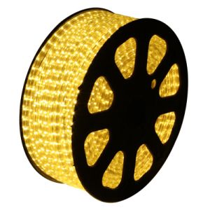 SMD5050 220V LED Flexible Strip with Waterproof (yellow)