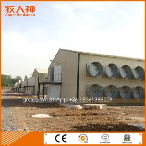 Prefabricated Poultry House From Factory with Farming Equipment for One Stop pictures & photos