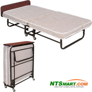 Metal Folding Single Bed (N000010122) pictures & photos