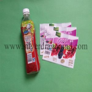 50mic PVC Shrink Sleeve Label for Bottle Package pictures & photos