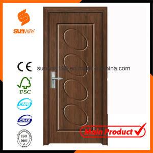Elegant PVC Wooden Door with Hot Sale pictures & photos