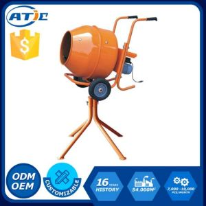 Horizontal Portable Concrete Mixer with Stander pictures & photos