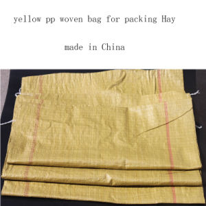 PP Woven Bag for Packing Hay Export to Russia pictures & photos