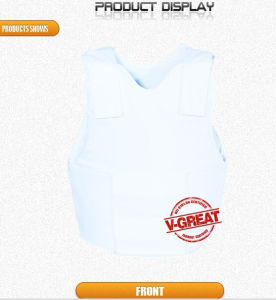 Covert Bulletproof Vest Nij 0101.06 Certified V-Fit024 pictures & photos