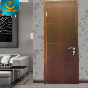 Modern Style Solid Wood Composite HDF Hotel Door Apartment Door School Door for Middle East (ZX-09) pictures & photos