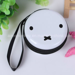 Wholesale Customized Printing Round Tin Coin Purse pictures & photos