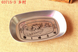 Silver Printing Zakka Fruit Sweet Tin Tray