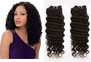 Deep Wave Brazilian Virgin Human Hair Extension/ Hair Weave pictures & photos