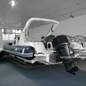 Liya 8.3m 20 Persons Luxury Rib Boats FRP Speed Boat pictures & photos