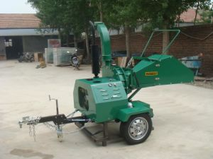 Pto Driven Double Hydraulic Feeding Wood Chipper pictures & photos