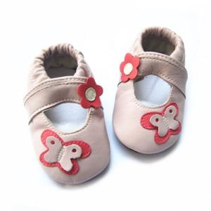Soft Sole Leather Baby Shoes pictures & photos