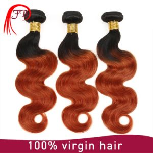 100% Virgin Remy Hair Ombre T Colors Brazilian Hair Extensions Body Wave pictures & photos