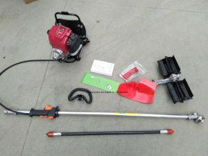 Gasoline Engine 139F 4 Strokes Knapsack Motorized Weeder / Brush Cutter (HT-BG330) pictures & photos