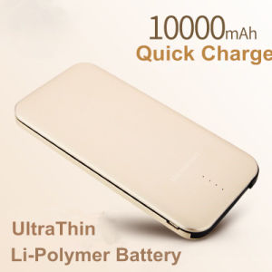 Newest 10000mAh Li-Polymer Power Bank Charger Thin