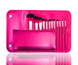 Professional Factory Direct Supply Cosmetic Makeup Brush with Synthetic Hair (12PCS) pictures & photos