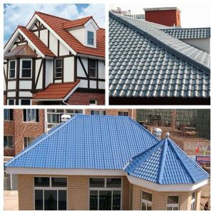 Free Samples Color Lasting Synthetic Resin Tile for Roofing pictures & photos