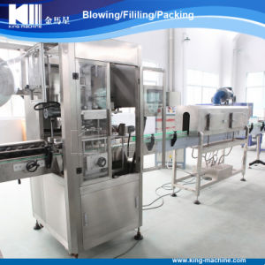 Automatic Label Sleeve Shrinking Machine/PE Shrinkable Label Insert Machine pictures & photos