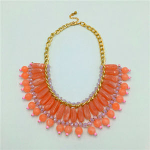 New Style Stone Beads Necklace Alloy Jewelry pictures & photos