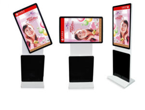 42′′46′′55′′ Rotating Touch Screen LCD Advertising Display pictures & photos