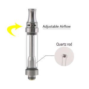 Top Airflow Cbd Hemp Oil Vaporizer Quartz Coil Cigarette Atomizer pictures & photos