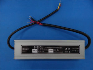 200W Hot Selling Waterproof Power Supply for LED Lighting pictures & photos