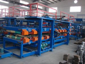 Color Steel Sheet Roof Tile Roll Forming Machine/Roof Tile/Roll Former pictures & photos