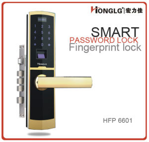 Honglg Access Control System Fingerprint Digital Door Lock System pictures & photos