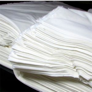 Manufacturer Produce White Grey Rayon Fabric for Garments pictures & photos