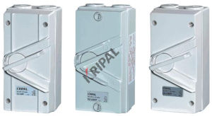 IP66 Weather Protected Isolating Switch pictures & photos