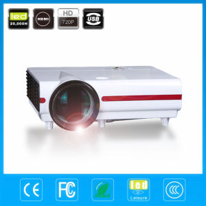 Free Shipping 3500lumens LED Beamer HD Ready LCD Video Projector pictures & photos