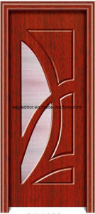 American Latest Design PVC Interior Wooden Doors (EI-P166) pictures & photos