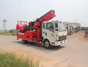 Hydraulic Aerial Cage, Wheelbase (mm) 4200, Overhead Working Truck
