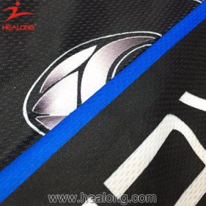 Healong Custom Sportswear Design Sublimation Netball Jersey for Sale pictures & photos