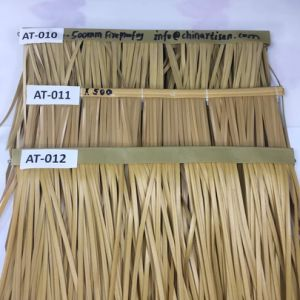 Flame Resistant Synthetic Thatch for Exterior Use at Sea Level pictures & photos