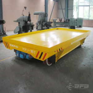 Paper Making Industry High Quality Electric Railroad Trailer with Ce Approved on Rails pictures & photos