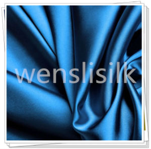 Silk Fabrics with Satin Style (wenslisilk140702S15) pictures & photos