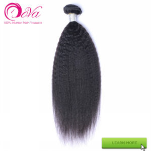 Dora Raw Indian Virgin Hair Extensions Natural Black Human Hair Weave pictures & photos