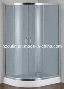 Grey Color Tempered Glass Shower Enclosure (E-22 low tray) pictures & photos