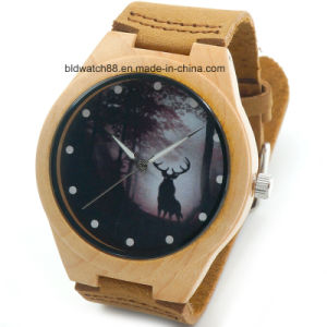 New Bamboo Wooden Watch Men Women Wristwatches 2017 Hot Sale pictures & photos